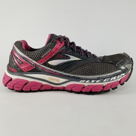 310c41025dc86 Brooks Shoes - Brooks Glycerin 10 Women s Athletic Shoes Gray 8
